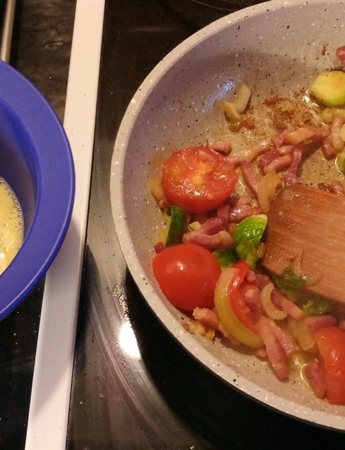Omelet, super let , sundt og lækkert…